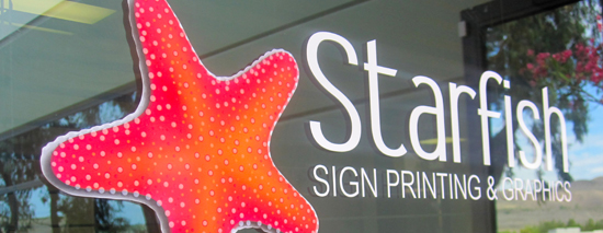 Starfish Signs and Graphics | San Clemente CA 949.429.6700 ...