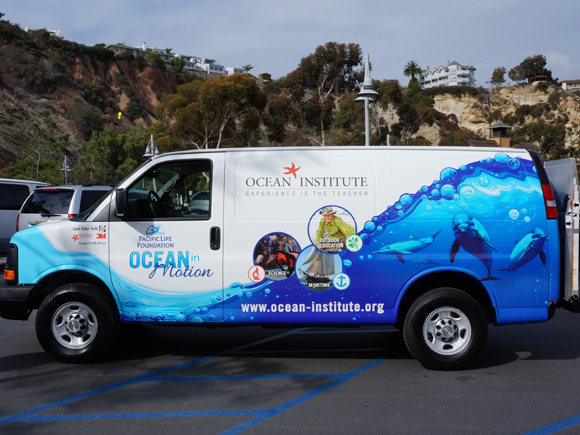 Ocean Institute - Vehicle Graphics Project from Signs from Starfish Signs and Graphics in Orange County