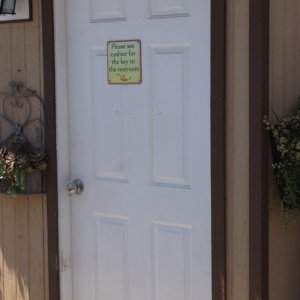 Plant Depot - Door Signs Project from Signs from Starfish Signs and Graphics in Orange County