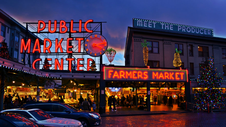 Farmers Market - Illuminated Signs Project from Signs from Starfish Signs and Graphics in Orange County