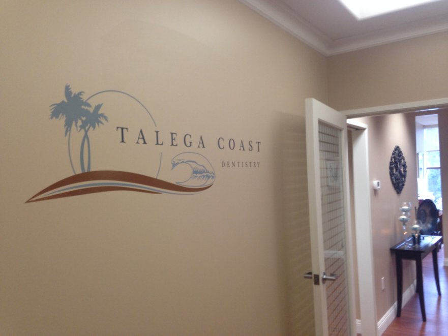 wall graphic, vinyl graphic, san clemente