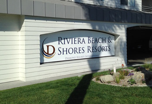 Riviera - Building Sign Project from Signs from Starfish Signs and Graphics in Orange County