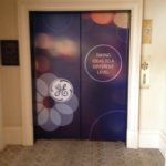 Elevator Graphic Project from Signs from Starfish Signs and Graphics in Orange County