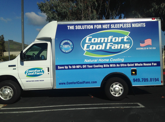 Contractor Vehicle Graphics San Clemente CA