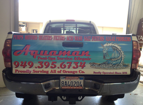 Contractor Work Truck Graphics San Clemente CA