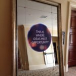 Mirror Graphic Project from Signs from Starfish Signs and Graphics in Orange County