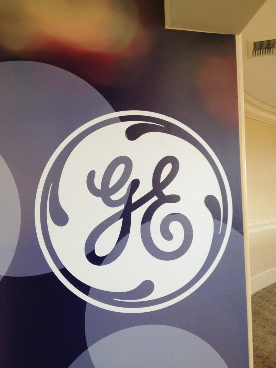 GE Wall Sign Project from Signs from Starfish Signs and Graphics in Orange County