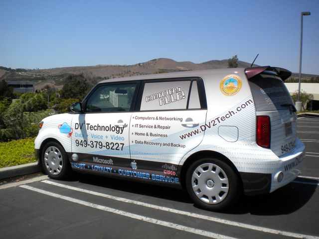 Vehicle graphics for small business owners South Orange County