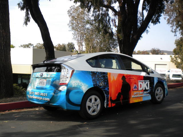 Vehicle graphics for small business owners San Clemente CA