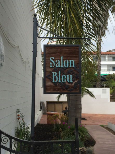 Sanblasted Signs for Hair Salons in San Clemente CA