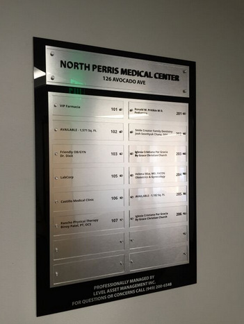 Directory Signs Riverside County CA