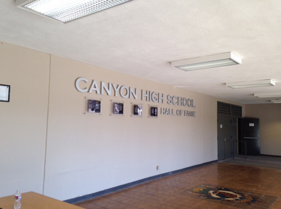 Dimensional Letters for Schools in Los Angeles County