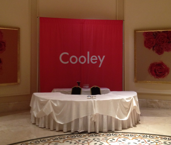 Corporate Event Signage South Orange County