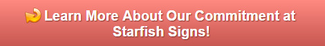 About Starfish Signs and Graphics