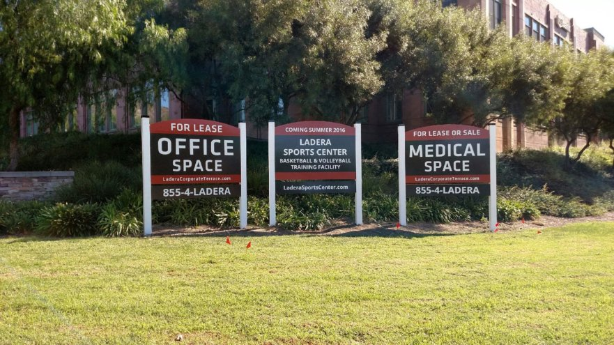 Commercial Property For Lease Signs San Clemente CA