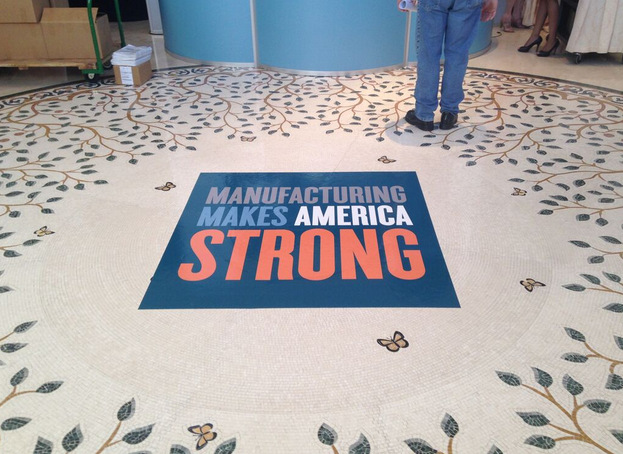 Using Floor Graphics To Advertise And Guide - A basic guide to vinyl graphics