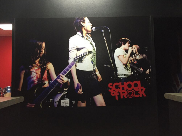 Wall graphics for music schools in Temecula, CA