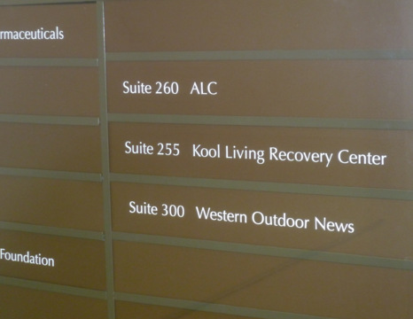 Corporate Suite Signs in San Clemente CA