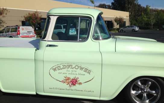 Truck Lettering for Retailers in San Clemente CA