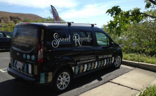 Truck Lettering for Retail Stores in San Clemente CA
