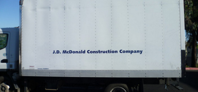 Vehicle Lettering for Contractors in San Clemente CA