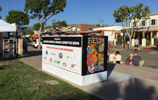 Corporate Event Displays San Clemente CA