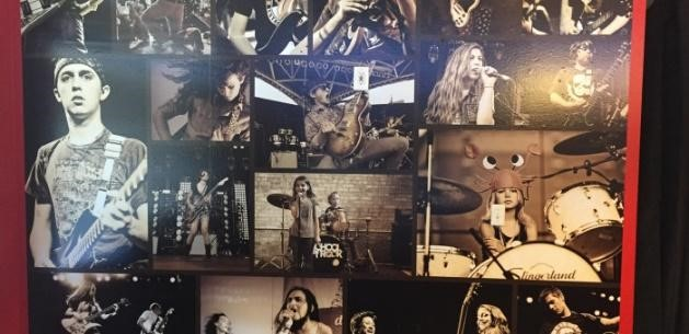 music bands wall mural