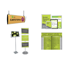 trade show sign sign system