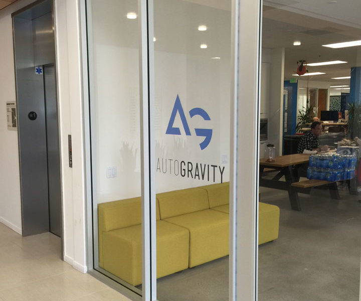 AutoGravity Window Glass Graphics from Starfish Signs & Graphics