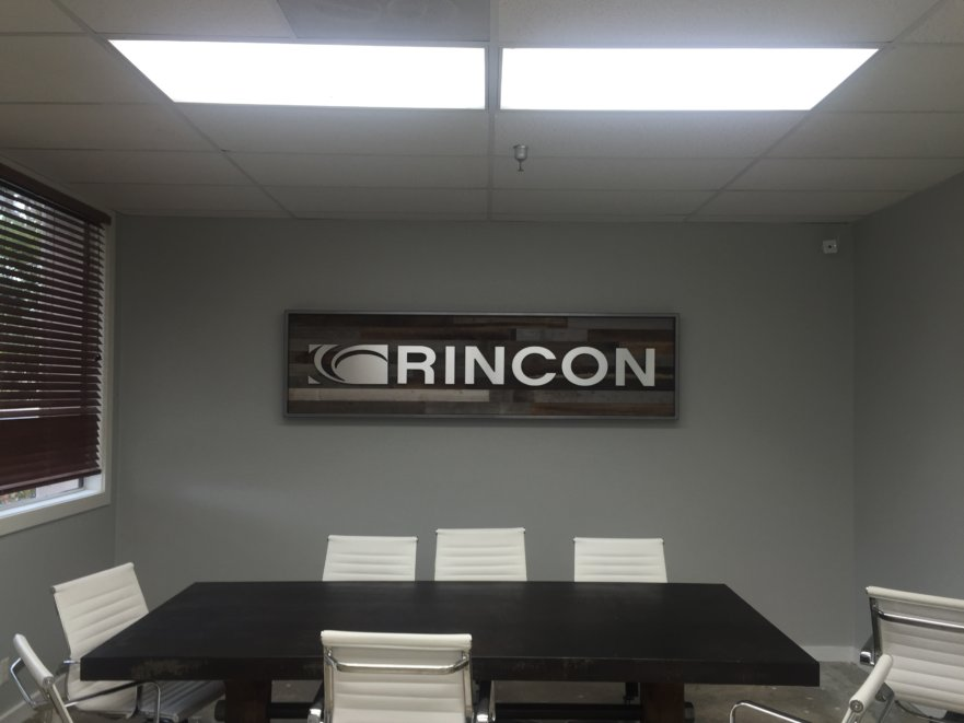 Rincon Lobby Sign Project from Starfish Signs & Graphics