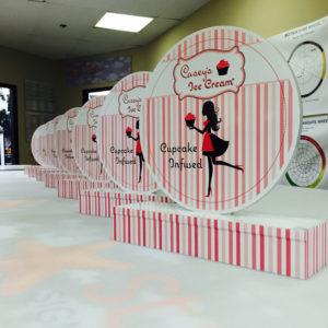 Cupcake Infused project from Starfish Signs & Graphics