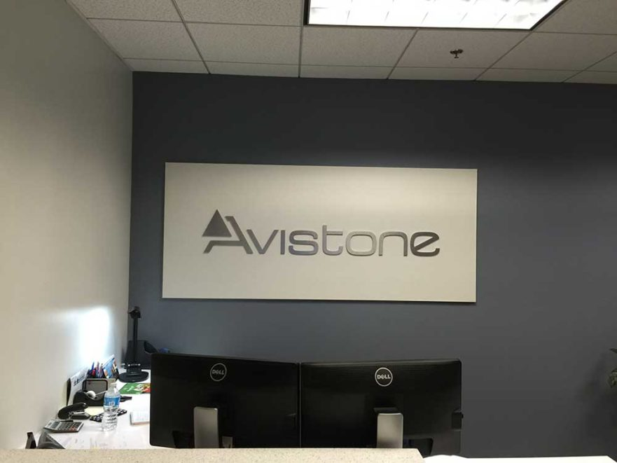 Avistone Lobby Signs from Starfish Signs & Graphics