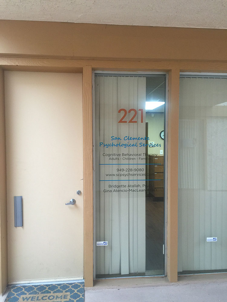 Bridgette-Atallah Window Signs from Starfish Signs & Graphics
