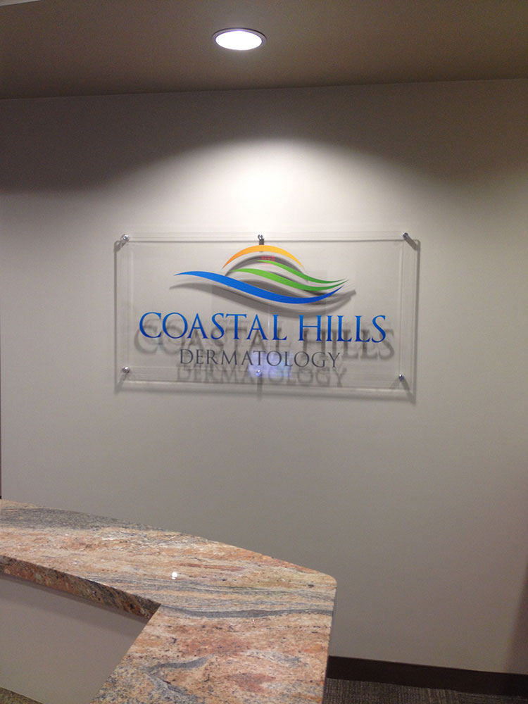 Coastal Hills - Lobby Signs from Starfish Signs & Graphics