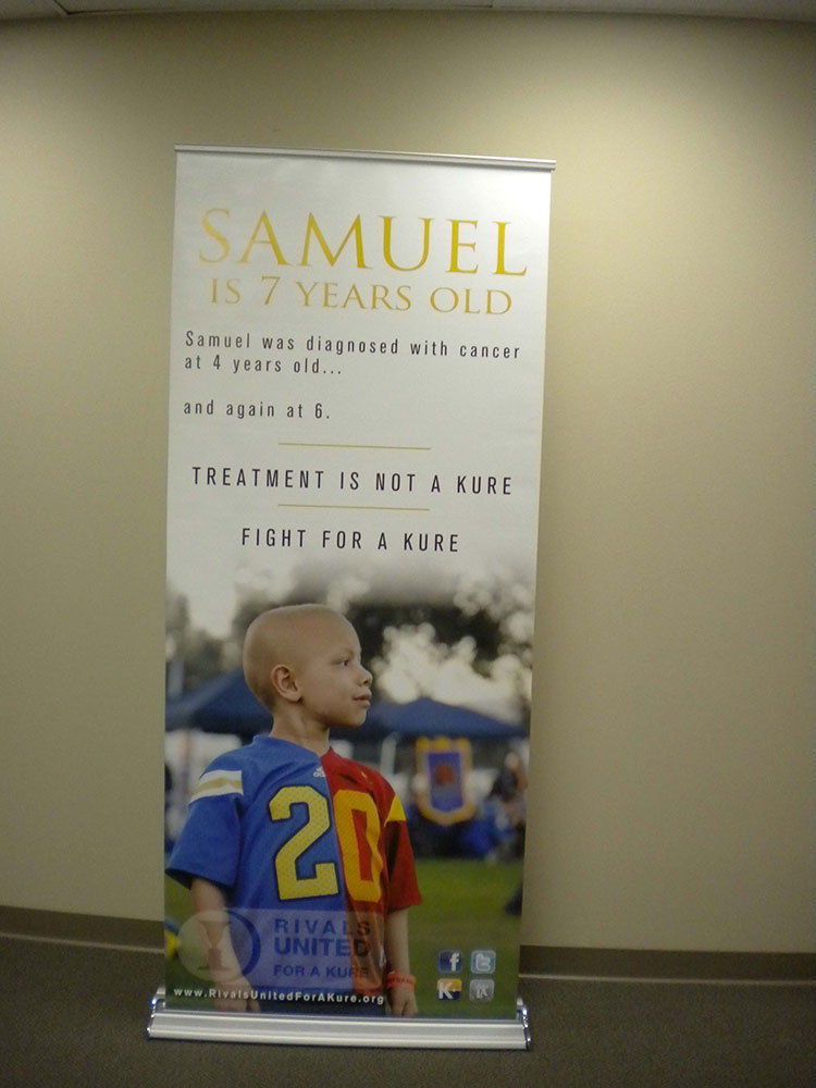 Samuel Poster from Starfish Signs & Graphics