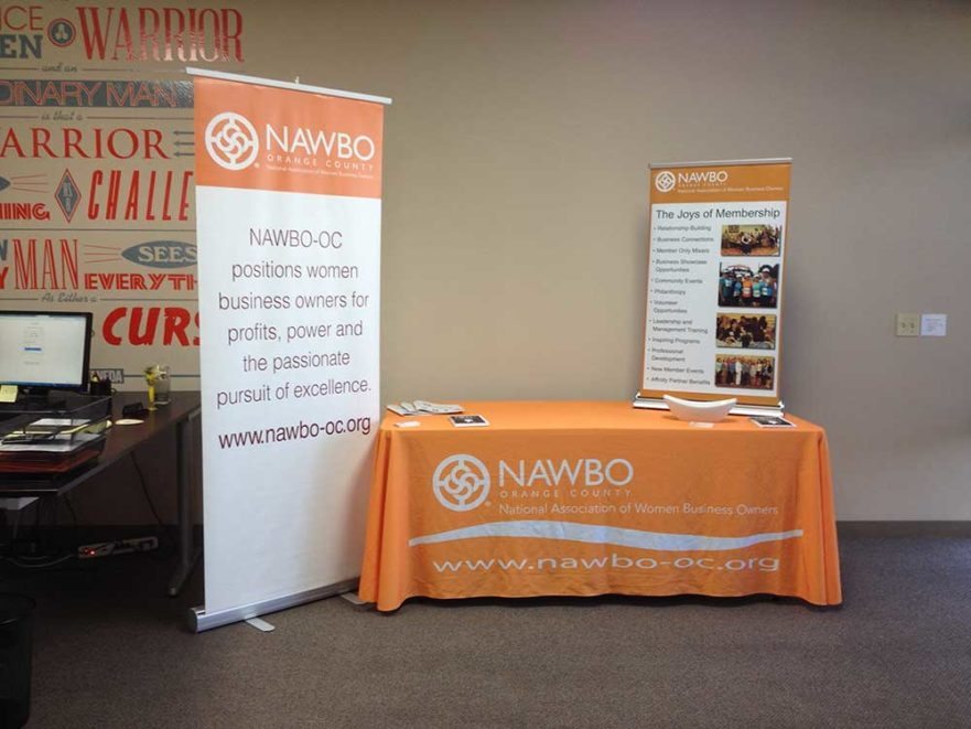 NAWBO poster graphics from starfish signs & graphics