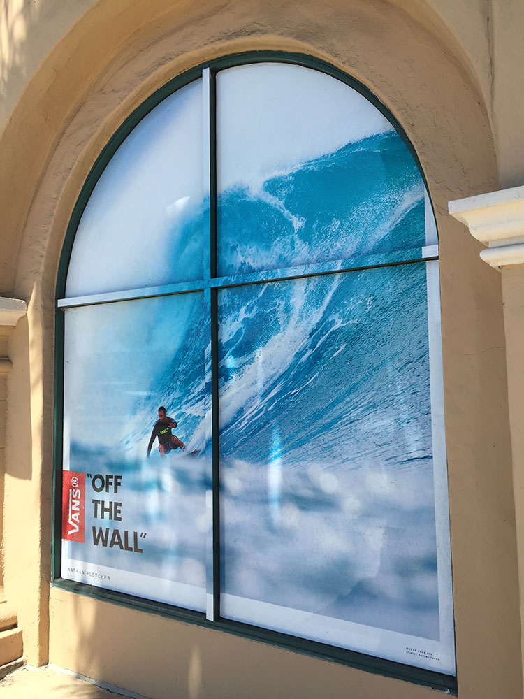 Vans Window Glass graphic