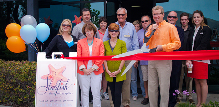 2012 Grand Opening of Starfish Signs