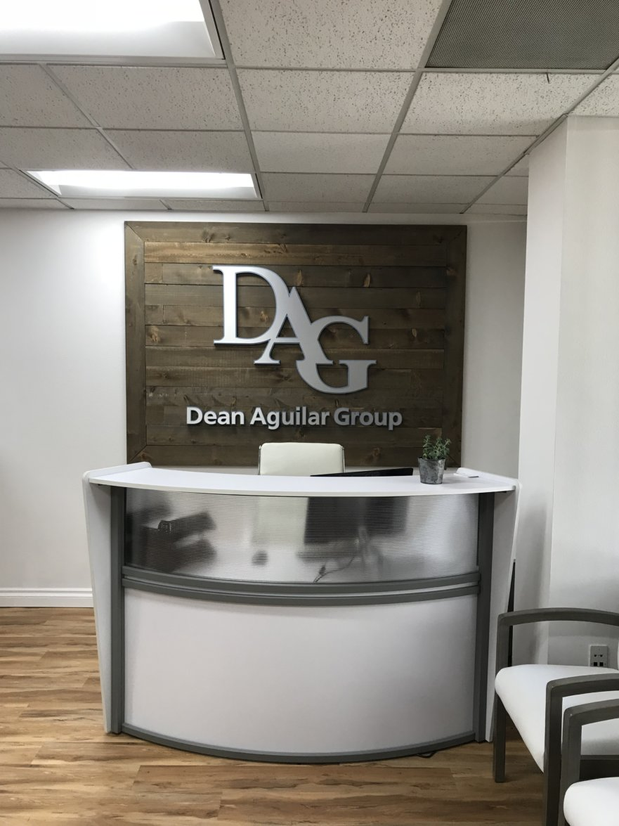 DAG lobby signs from starfish signs & graphics