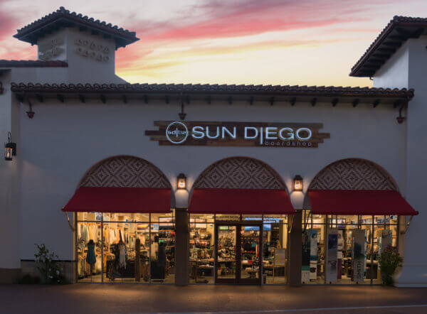 Sun Diego San Clemente Building Sign