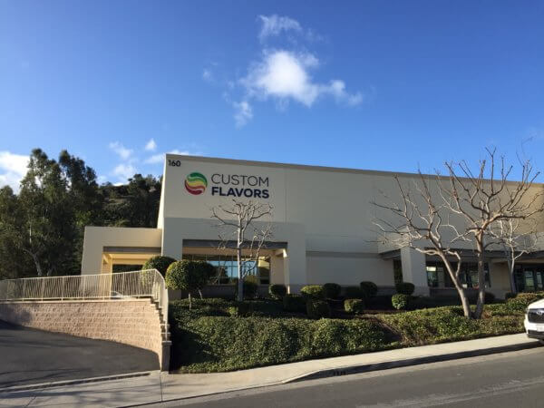 custom flavors building signs from starfish signs & graphics in orange county