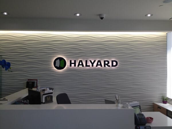 Give Your Business Character with an Illuminated Lobby Sign