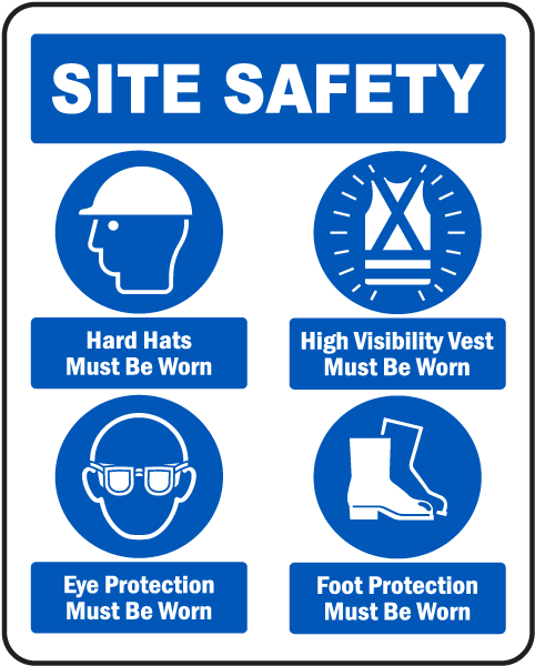 Safety Signage for Manufacturing Facilities